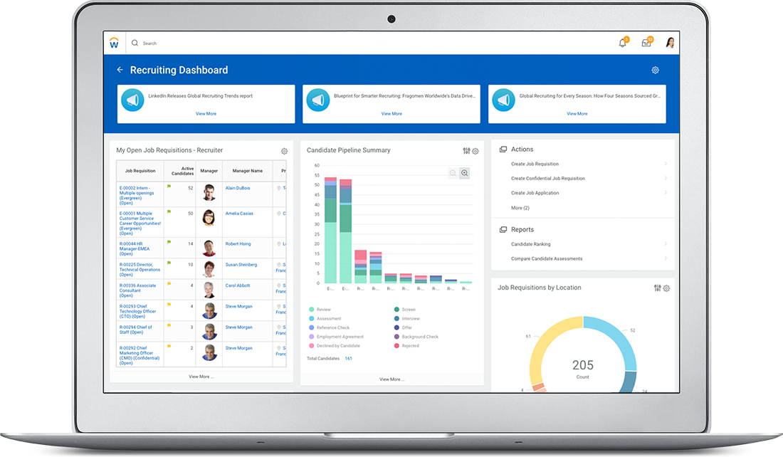 Recruitment Software | Recruiting Solutions | Workday
