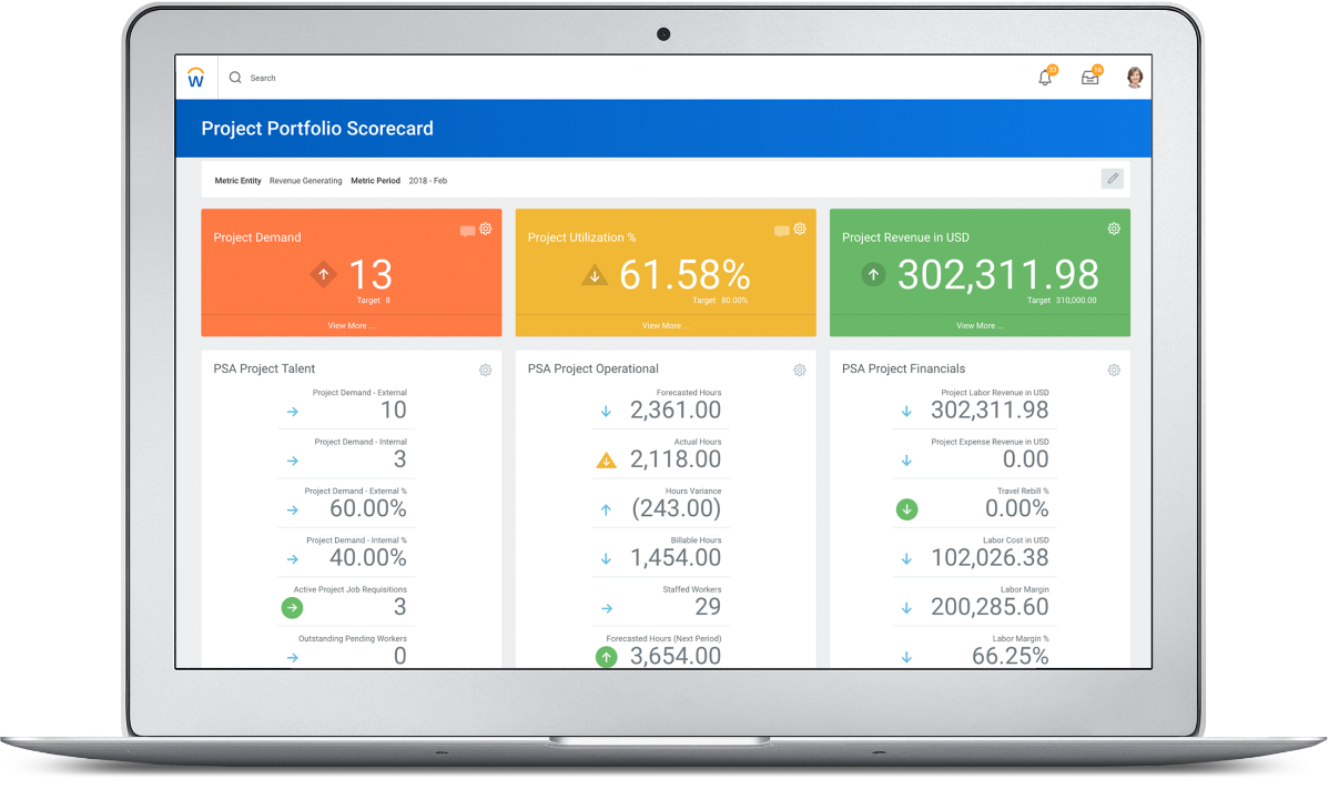 Cloud Based Project Management Software | Workday