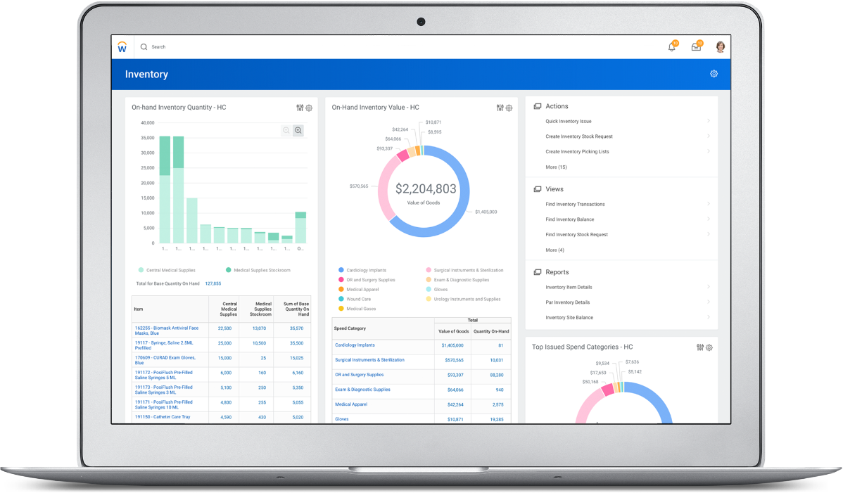 Supply Chain Management for Healthcare | Workday