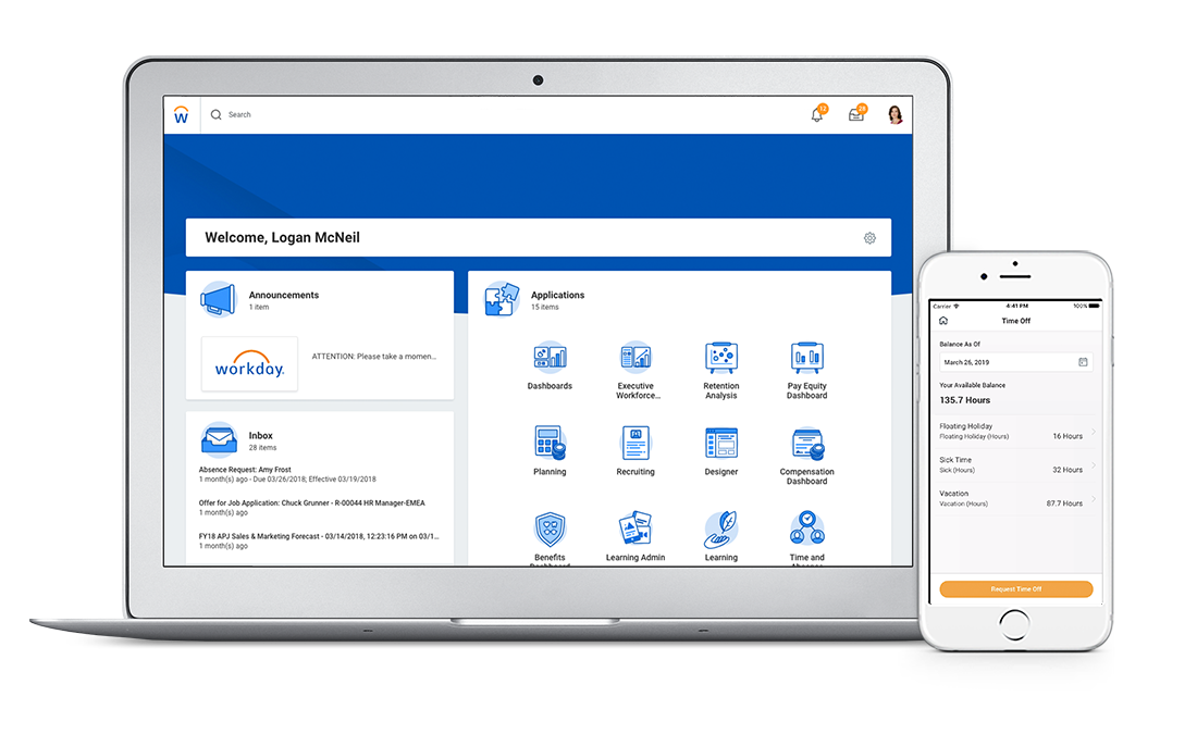 Time Tracking and Attendance Management Software | Workday