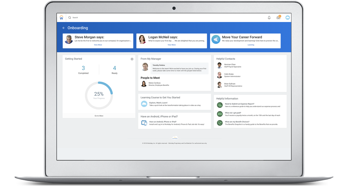 HR Talent Management and Software   Workday